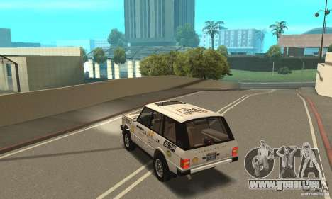 Range Rover County Classic 1990 pour GTA San Andreas