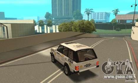 Range Rover County Classic 1990 für GTA San Andreas