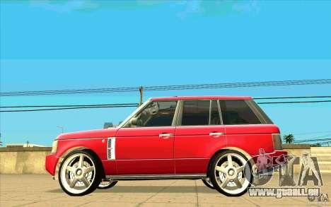 NFS:MW Wheel Pack für GTA San Andreas elften Screenshot