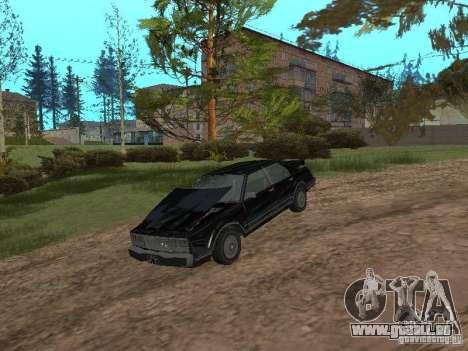 Römische ist Taxi von GTA 4 für GTA San Andreas Rückansicht