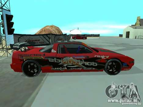 Infernus Drift Edition für GTA San Andreas linke Ansicht