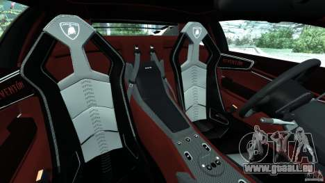 Lamborghini Reventon 2008 v1.0 [EPM] pour GTA 4 est une vue de l'intérieur