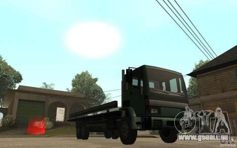 DFT30 Dumper Truck für GTA San Andreas Rückansicht