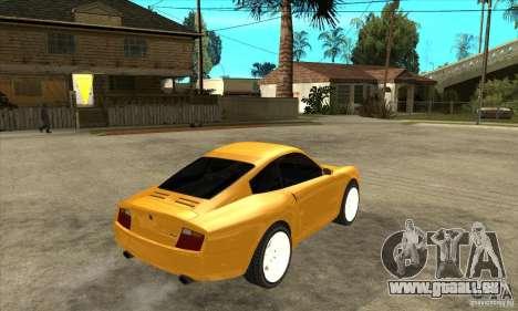 GTA IV Comet pour GTA San Andreas vue de droite