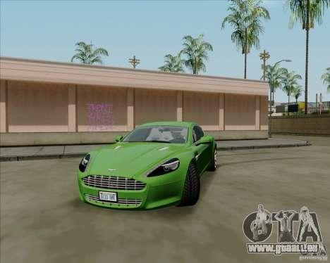Aston Martin Rapide 2010 V1.0 pour GTA San Andreas laissé vue