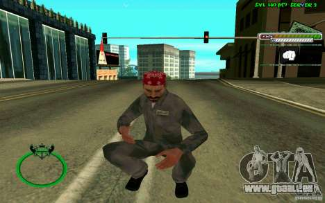 Mechanik HD Skin für GTA San Andreas fünften Screenshot