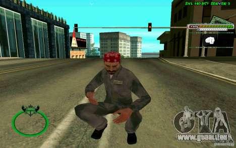 Mechanik HD Skin für GTA San Andreas fünften Screenshot