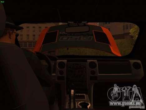 Ford F-150 SVT Raptor 2009 Final für GTA San Andreas Seitenansicht