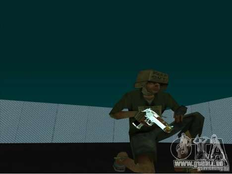 New Weapons Pack pour GTA San Andreas