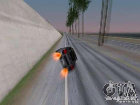 Race for NFS pour GTA San Andreas deuxième écran