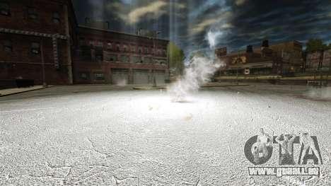 Aveuglante cocktail Molotov pour GTA 4 troisième écran