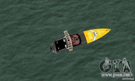 Cesa Offshore für GTA San Andreas rechten Ansicht