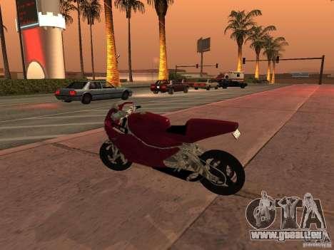 Turbine Superbike pour GTA San Andreas laissé vue
