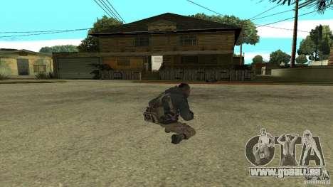 Soap pour GTA San Andreas cinquième écran