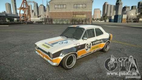 Ford Escort Mk1 pour GTA 4