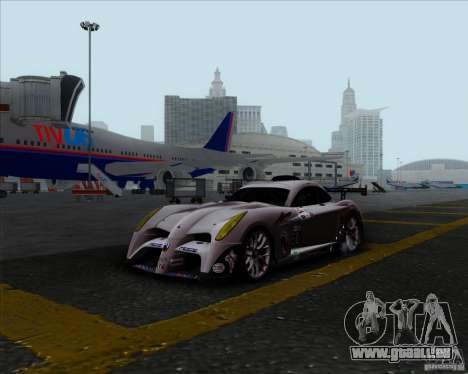 Panoz Abruzzi Le Mans V1.0 2011 für GTA San Andreas