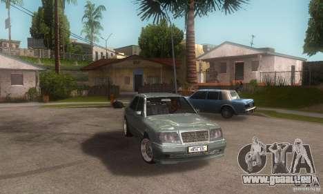 Mercedes-Benz E500 für GTA San Andreas rechten Ansicht