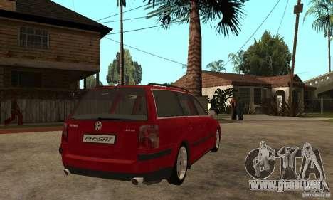 VW Passat B5 Variant für GTA San Andreas rechten Ansicht
