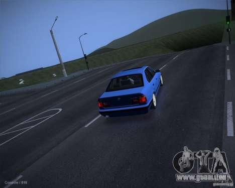 ENB Criminal Stance pour GTA San Andreas deuxième écran