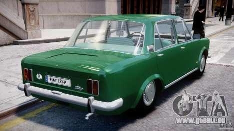 Fiat 125p Polski 1970 pour GTA 4 est une vue de dessous