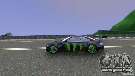 BMW M3 Monster Energy für GTA 4 linke Ansicht