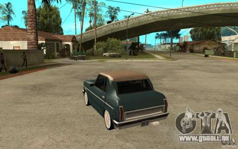 Perenial Coupe für GTA San Andreas zurück linke Ansicht