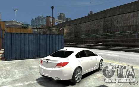 Opel Insignia OPC BETA pour GTA 4 est un droit