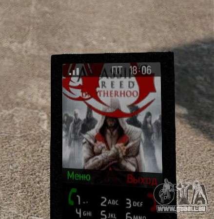 Nouveaux thèmes pour votre téléphone pour GTA 4 secondes d'écran