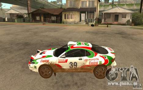 Toyota Celica GT-Four pour GTA San Andreas laissé vue
