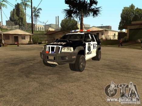 Jeep Grand Cherokee police K-9 pour GTA San Andreas
