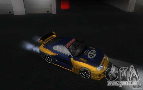 Toyota Supra Chargespeed pour GTA San Andreas vue intérieure