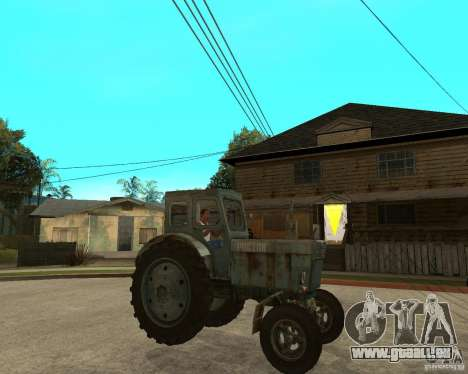 Tracteur Т-40М pour GTA San Andreas