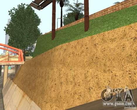 Textur von dem Basketballplatz für GTA San Andreas dritten Screenshot