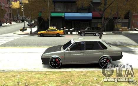 VAZ 21099 für GTA 4 linke Ansicht