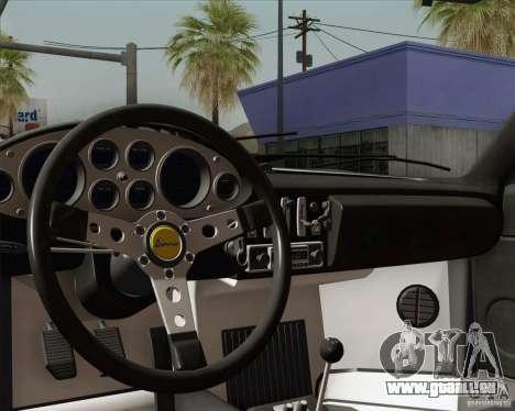 Ferrari 246 Dino GTS für GTA San Andreas Innen