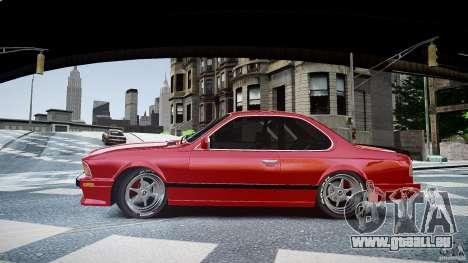 BMW M6 v1 1985 pour GTA 4 est une gauche