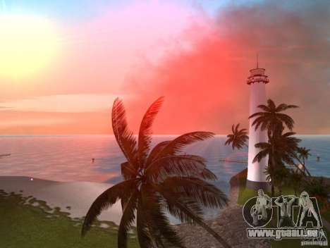 Vice City Real palms v1.1 Corrected pour GTA Vice City