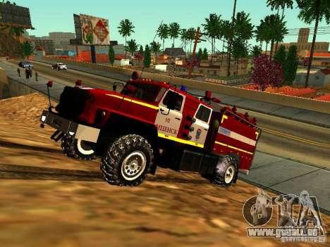 Ural 5557-40 Feuer für GTA San Andreas