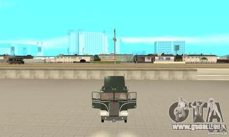 Kenworth K100 USA Standard pour GTA San Andreas vue arrière