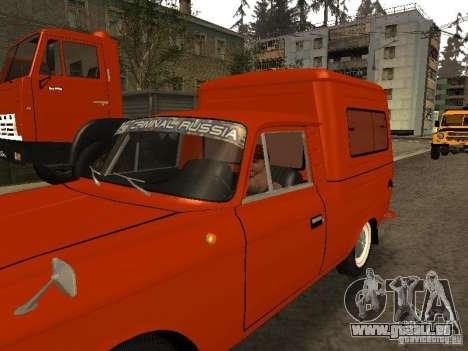 New Carcols by CR v3.0 pour GTA San Andreas deuxième écran