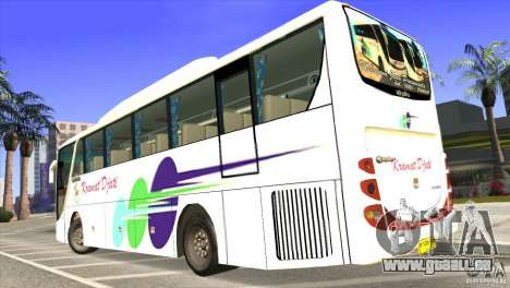 Hino New Travego RK1 für GTA San Andreas linke Ansicht