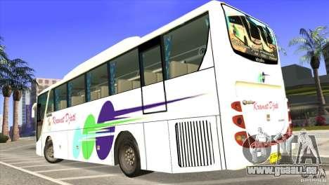 Hino New Travego RK1 pour GTA San Andreas laissé vue