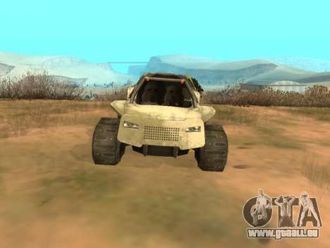 Ocelot UAZ-8 pour GTA San Andreas vue de droite