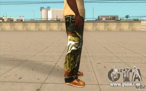 Hip-hop jeans pour GTA San Andreas quatrième écran