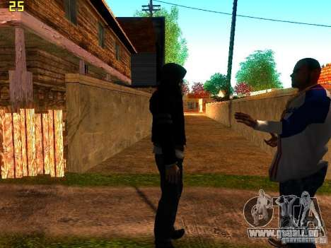 Alex Mercer pour GTA San Andreas deuxième écran