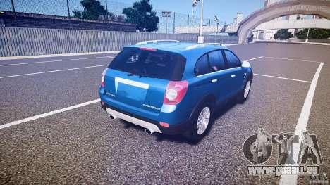 Chevrolet Captiva 2010 Final pour GTA 4 vue de dessus