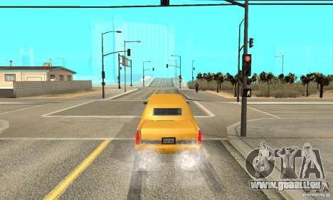 VIP TAXI pour GTA San Andreas cinquième écran