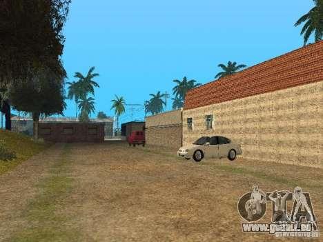 Mega Cars Mod pour GTA San Andreas troisième écran