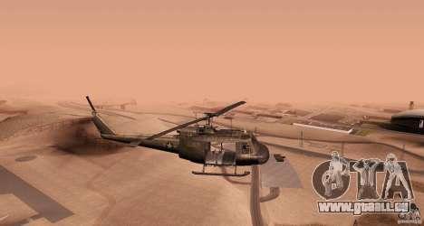 UH-1H für GTA San Andreas linke Ansicht