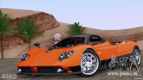 Pagani Zonda F pour GTA San Andreas salon